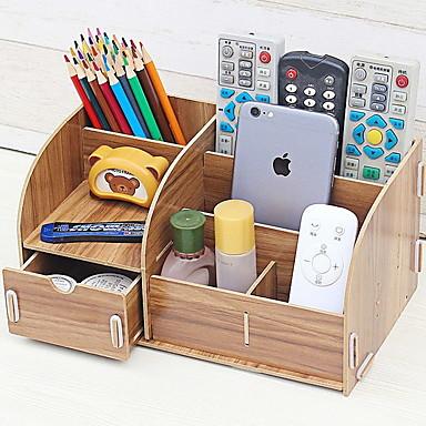 De madeira Clássico Casa Organização, 1pç Caixas Organizadoras