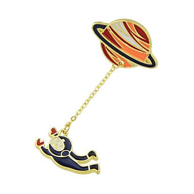 levne Dámské šperky-Dámské Brože Geometrické Rabbit stylové Jedinečný design Sladký Brož Šperky Duhová Světle zelená Pro Denní Práce Festival