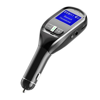 levne Auto Elektronika-bluetooth fm vysílač pro auto bezdrátový in-car fm vysílač rádio adaptér kit s handsfree volání bluetooth stereo rádio adaptér 5v / 3.1a univerzální nabíječka do auta s duální usb