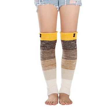 Γυναικεία Sexy Θερμαντικά ποδιών Πολύ Ζεστό Γκρίζο Κίτρινο Φούξια Ένα Μέγεθος