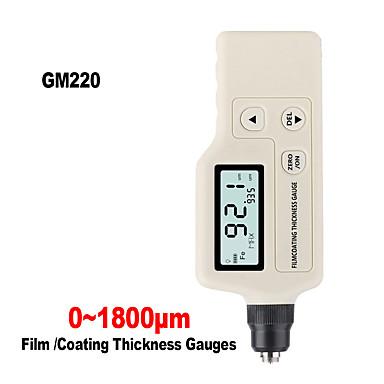voordelige Test-, meet- & inspectieapparatuur-rz film laagdiktemeter slimme sensor auto kalibratie digitale dikte meter tester professionele lcd-scherm gm220