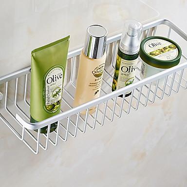Hylle til badeværelset Kreativ Moderne Aluminium 1pc Vægmonteret