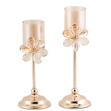 preiswerte Kerzen & Kerzenhalter-Moderne zeitgenössische Eisen Kerzenhalters Kandelaber 8St, Kerze / Kerzenhalter