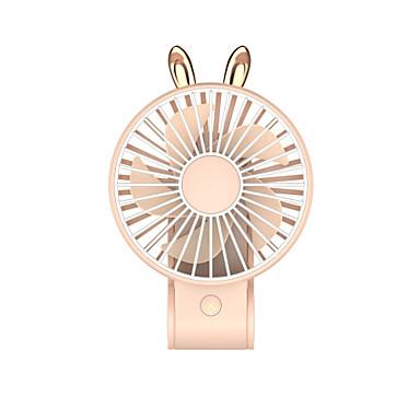 1pc desktop usb lading sminkespeil fan bærbar utendørs jente gave mini fan