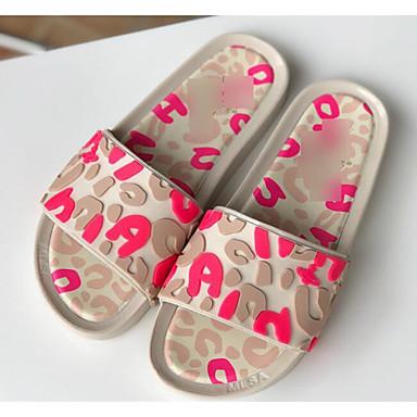 voordelige Damespantoffels & slippers-Dames Slippers & Flip-Flops Comfort schoenen Platte hak EVA Zomer Paars / Blauw / Roze