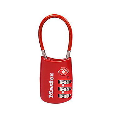 4688MCNRED Kódovaný zámek Ψευδάργυρο κράμα Ξεκλειδώστε τον κωδικό πρόσβασης για Βαλίτσες Αποσκευών / Ντουλάπι / Γυμναστήριο