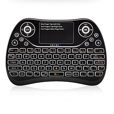 S913 Air Mouse / Tastatur / Fjernkontroll Mini 2.4GHz Trådløst Air Mouse / Tastatur / Fjernkontroll Til / Android 5.1