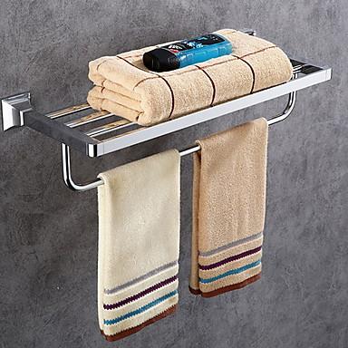 Ράφιι μπάνιου Δημιουργικό / Πολυλειτουργία Σύγχρονο Ορείχαλκος 1pc Επιτοίχιες