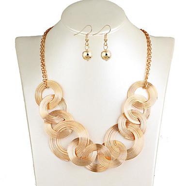Γυναικεία Κρεμαστό Κλασσικό Χαρά Στυλάτο Σκουλαρίκια Κοσμήματα Χρυσό / Ασημί Για Πάρτι Καθημερινά 2