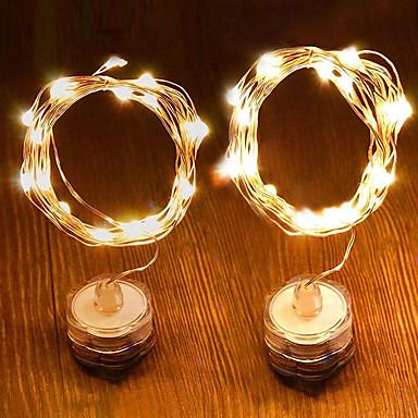 Dongguan pho_03n0led αδιάβροχο κερί χάλκινο σύρμα φως σειρά 1 μέτρο 10 φώτα ζεστό λευκό