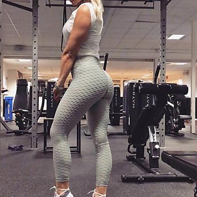 Γυναικεία Παντελόνι για γιόγκα Συνδυασμός Χρωμάτων Τρέξιμο Fitness Γυμναστήριο προπόνηση Κολάν Ρούχα Γυμναστικής Αναπνέει Ύγρανση Γρήγορο Στέγνωμα Αντίστροφη καρότσα Λεπτό