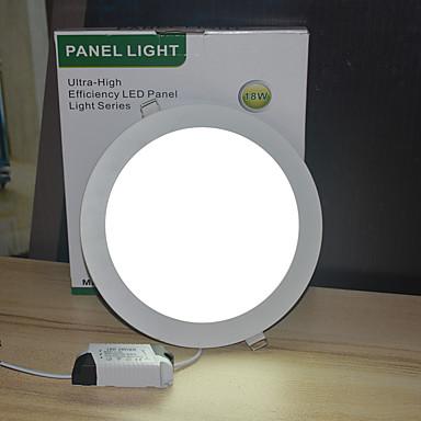 1pc 18 W 1800 lm 18 LED χάντρες Χωνευτό Φως Άσπρο 85-265 V Εμπορική Σπίτι / Γραφείο Κρεβατοκάμαρα / 210