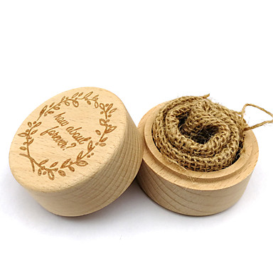 Ξύλο Other Διακόσμηση Τελετή - Γάμου Κουτί