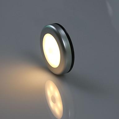 1pc LED νύχτα φως Θερμό Λευκό Μπαταρίες AA Powered Δημιουργικό 5 V