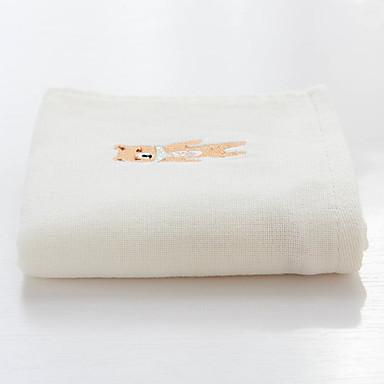 Ανώτερη ποιότητα Πετσέτα Πλυσίματος, Μονόχρωμο / Ζώο 100% βαμβάκι Παιδικό Δωμάτιο / Μπάνιο 1 pcs