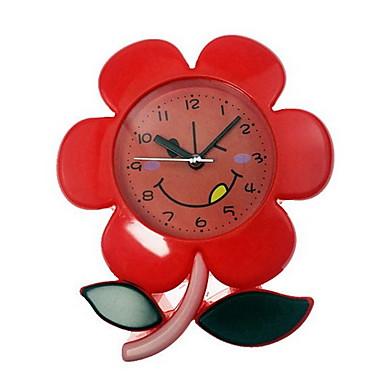 relógio de mesa de relógio moderno contemporâneo plástico irregular