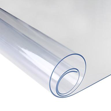 Dongguan pho_08io gjennomsiktig myk glass duk husholdning vanntett duk pvc bord matte gjennomsiktig _60x60cm