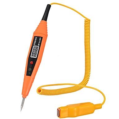 2.5-32 v carro digital testador de tensão elétrica pen probe detector ferramenta de diagnóstico com tela lcd