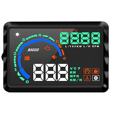 levne Auto Elektronika-k9 lcd head up display multifunkční displej pro rychlost jízdy / zobrazení km / h mph