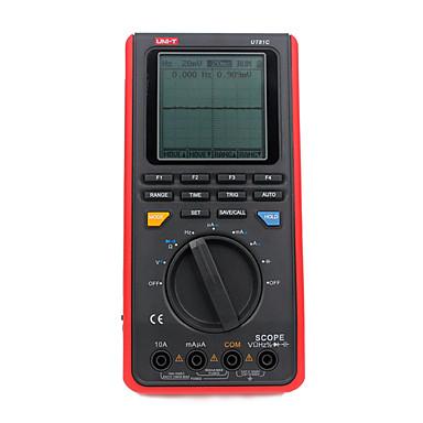 preiswerte Digitale Multimeter und Oszilloskope-uni-t ut81c digitalmultimeter handheld lcd-scopemeter oszilloskop 8 mhz 40 ms / s echtzeit-sample-rate mit usb-schnittstelle