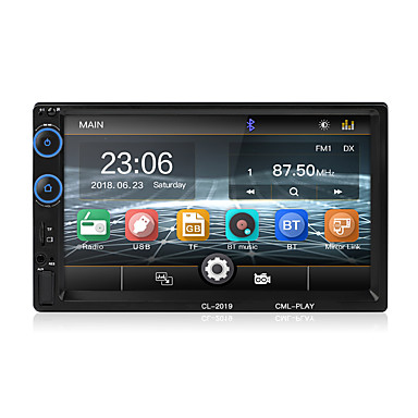 voordelige Automatisch Electronica-2 din autoradio bluetooth mirror link 2din auto multimedia speler hd touch autoradio mp5 usb audio stereo auto monitor 2019 nieuwe