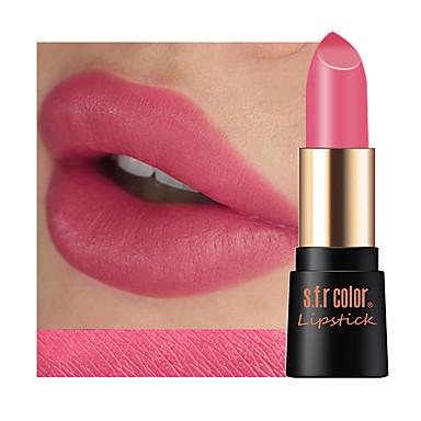 1 pcs 12 cores Maquiagem para o Dia A Dia Feminino / Lábios / Durável Secos Durável / Segurança / Conveniência Estiloso / Profissional Maquiagem Cosmético Artigos para Banho & Tosa