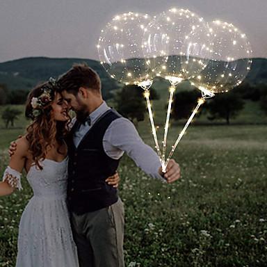 Μπαλόνι Πλαστική ύλη Διακόσμηση Γάμου Χριστούγεννα / Γάμου Γάμος / Νεό Μωρό / Γενέθλια Όλες οι εποχές