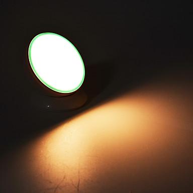 1pc LED Night Light Varm hvit AA batterier drevet Kreativ 5 V