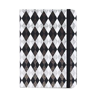 2019 καινοτομία χαρτί γεωμετρία επιχρυσωμένο μοτίβο επίδεσμο πηνίο βιβλίο / σημείωμα σημειωματάριο βιβλίο για γραφείο γραφείο χαρτικά α6