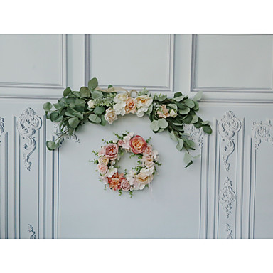 povoljno Svadbeni pir-Privjesci drven 1set Vjenčanje