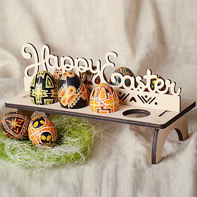 Yiwu pho_0907diy tre påskeegg stand happy påske påske dekorasjon egg brett glad påske