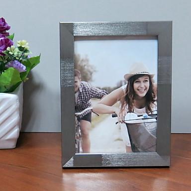 Σύγχρονη Σύγχρονη Ανοξείδωτο Ατσάλι Γυαλισμένο με καθρέφτη Κορνίζες, 2pcs