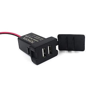 profesjonell dual usb port socket 3.1a lader bil reparasjon verktøy for toyota