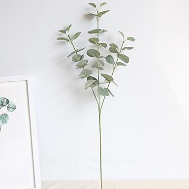 Ψεύτικα λουλούδια 1 Κλαδί Κλασσικό Ποιμενικό Στυλ Φυτά Λουλούδι για Τραπέζι