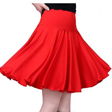 Λάτιν Χοροί Παντελόνια Φούστες Γυναικεία Εκπαίδευση / Επίδοση Mohair Που καλύπτει / Διαφορετικά Υφάσματα Φυσικό Φούστες