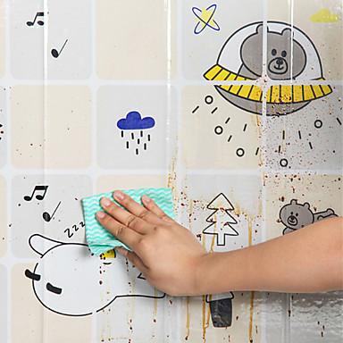 Κουζίνα Είδη καθαριότητας Πλαστική ύλη Αυτοκόλλητα Ανθεκτικά στο Λάδι Δημιουργική Κουζίνα Gadget Ανθεκτικό 1pc