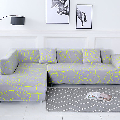 Sofatrekk Geometrisk / Landskap / Klassisk Reaktivt Trykk Polyester slipcovere