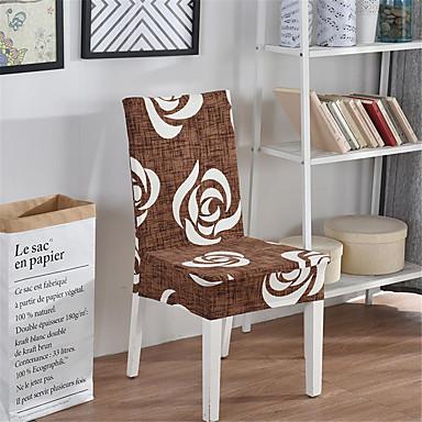 Cobertura de Cadeira Contemporâneo Fios Tingidos Poliéster Capas de Sofa