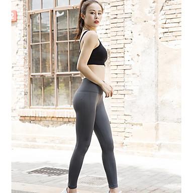 Dame Yogabukser Elastan Treningsøkt Bunner Sportsklær Pustende Fukt Wicking Fort Tørring Butt Lift Elastisk