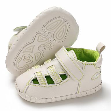 Αγορίστικα / Κοριτσίστικα Πρώτα Βήματα PU Σανδάλια Βρέφη (0-9m) / Νήπιο (9m-4ys) Λευκό / Πράσινο / Μπλε Καλοκαίρι / Καοτσούκ