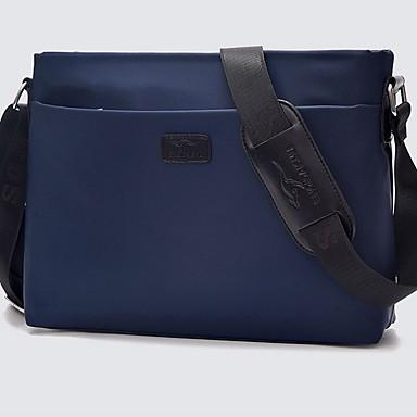 preiswerte Laptoptaschen-Nylon Reißverschluss Laptop Tasche Volltonfarbe Alltag Schwarz / Marinenblau / Herrn