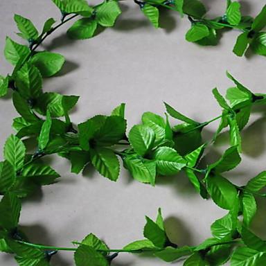 Kunstige blomster 1 Gren suspendert Moderne Moderne Planter Veggblomst