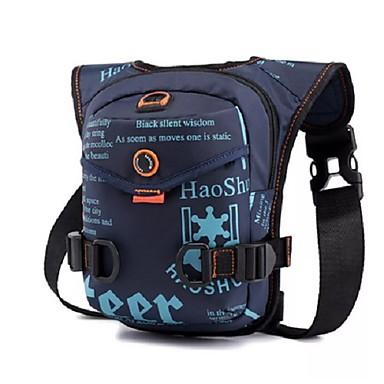 voordelige Auto-interieur accessoires-nylon drop taille been drop tas voor mannen mode rijden heuptasje militaire ruiter reizen mannen messenger schoudertas
