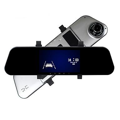 billige Bil Elektronikk-ziqiao a5 1080p video / start automatisk opptak bil dvr 170 grader 5 tommers hd ips berøringsskjerm / reversering av visuell / sløyfevideo / g-sensor / bevegelsesdeteksjon / parkeringsovervåkning