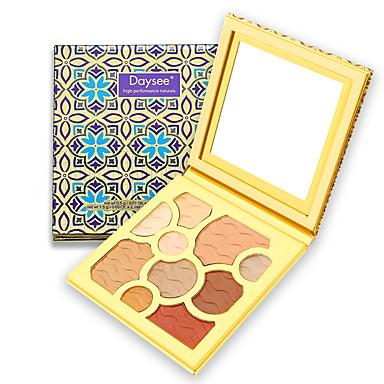 10 cores Sombra Sombra de olho Exterior Pró Fácil Uso Ultra Leve (UL) Profissional Maquiagem para o Dia A Dia Cosmético Dom