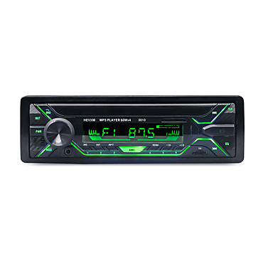 hevxm 3010 1 din bil mp3-spiller mp3 / innebygd Bluetooth / subwoofer-utgang for universell Bluetooth-støtte mp3 / wav / hands-free samtale og lyd streaming