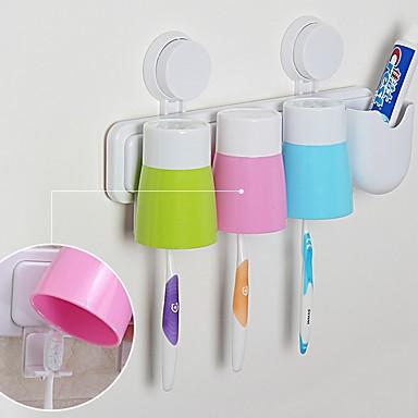 Tannbørstekopp Kreativ Moderne Moderne PP verktøy Tannbørste og tilbehør