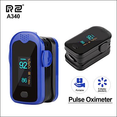 a340 rz bærbar finger oximeter fingertupp husholdning helse monitorer oximetro pulsioximetro hjertefrekvens pr spo2 meter puls oximeter