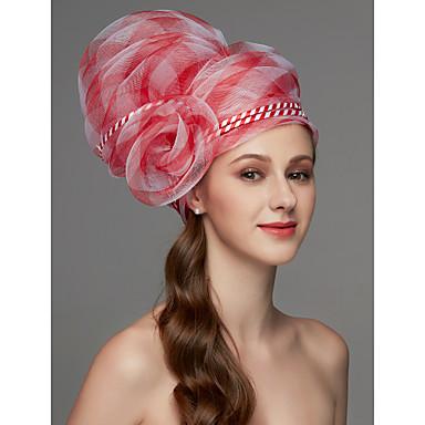 povoljno Party pokrivala za glavu-Net Fascinators / Šešir / Headpiece s Perje / Cvijet / Trim 1 komad Vjenčanje / Special Occasion Glava