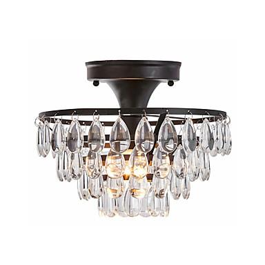 Ceiling Lamp Semi Flush Mount Round